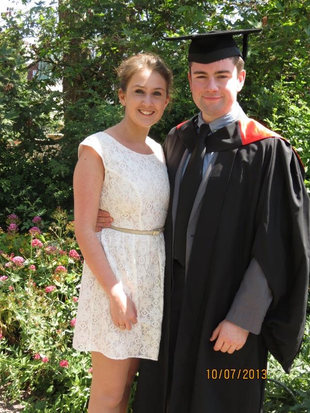 Naomi and Matt's Graduation!