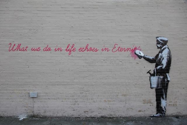Banksy takes New York